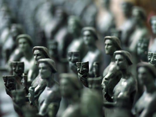SAG Awards-Making the Statue