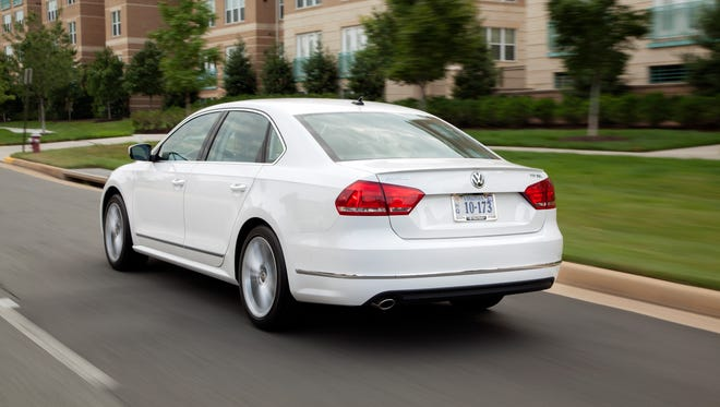 The Passat midsize sedan currently is the only product produced by VW's Chattanooga plan.