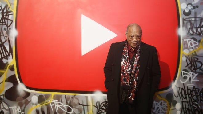 Quincy Jones in New York on Jan. 26, 2018.