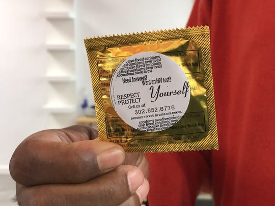 About once a month, Frank Hawkins, of AIDS Delaware, drops of condoms to 32 barbershops and beauty salons in Wilmington. He's found these businesses have a pulse on the African American community and can inform their clients about healthy behaviors.