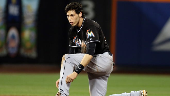 """the best way I can describe it is it's a thought process,"" Christian Yelich says of his plate approach during this breakout season."