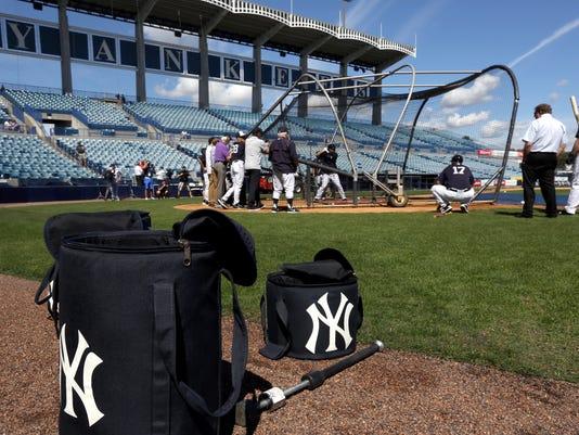 New York Yankees catchers