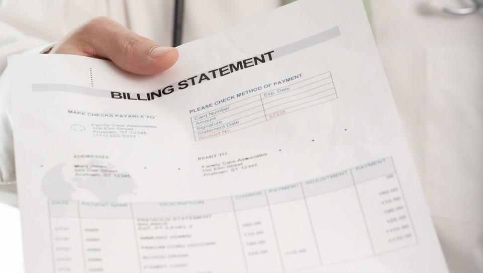 Medical bill.