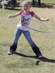 The Hula-Hoop began as a toy for kids and is now a form of exercise for all ages.