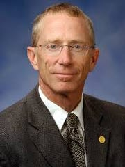 Former Republican state Sen. Bruce Caswell, chaired the Senate appropriations subcommittee for the Department of Human Services until he left the Legislature on Dec. 31 because of term limits.