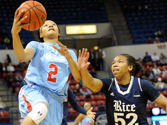 Lady Techster Basketball vs Rice