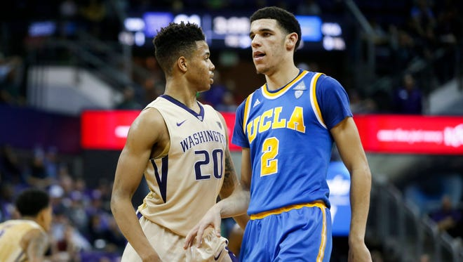 Markelle Fultz and Lonzo Ball could be the first two picks in the 2017 NBA draft.