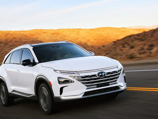 Powered by hydrogen, Hyundai's Nexo is an upcoming