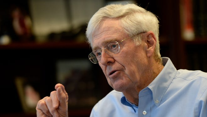 Charles Koch is chairman and CEO of Koch Industries.