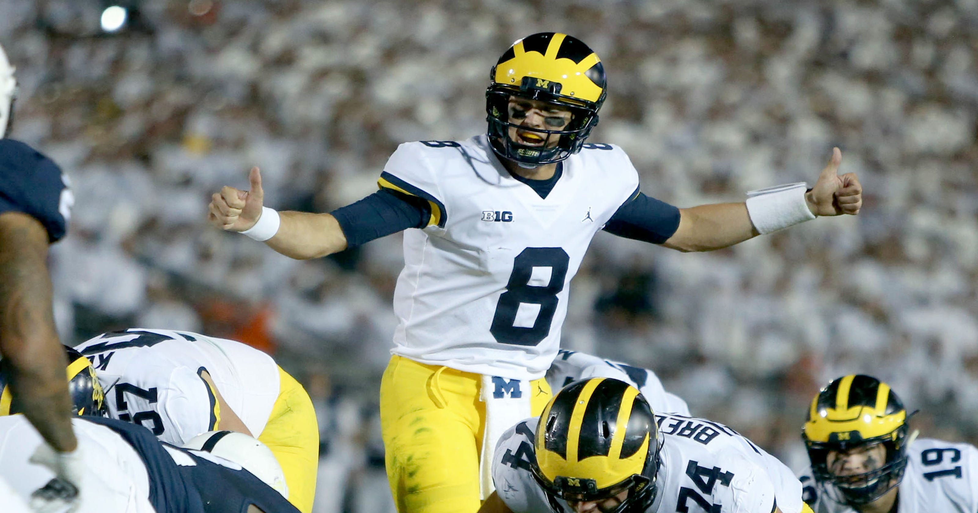 Michigan rocked early and late in blowout loss at Penn State 579731e73