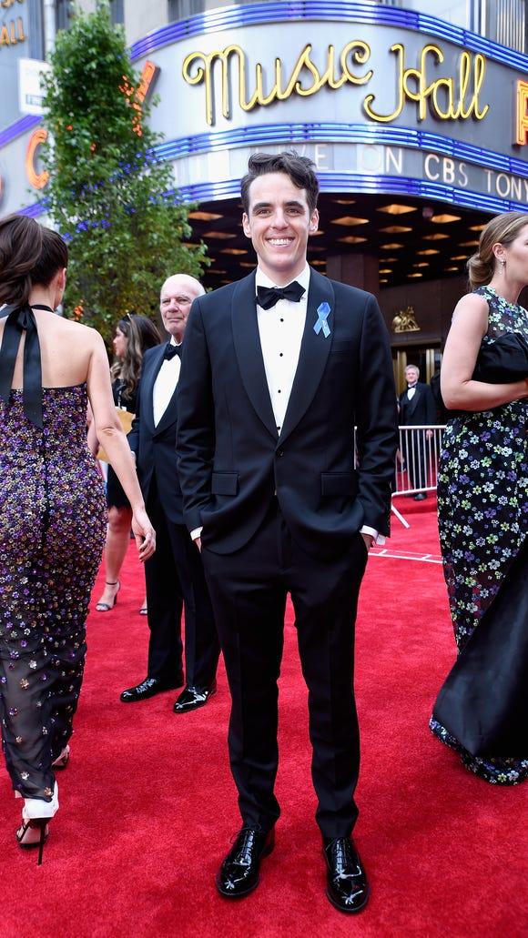 Steven Levenson attends the 2017 Tony Awards at Radio
