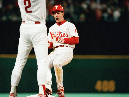 Mickey Morandini helped the Phillies win the National