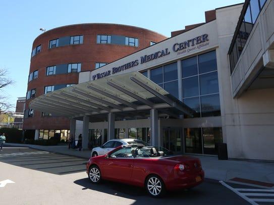 Vassar Brothers Medical Center in Poughkeepsie April
