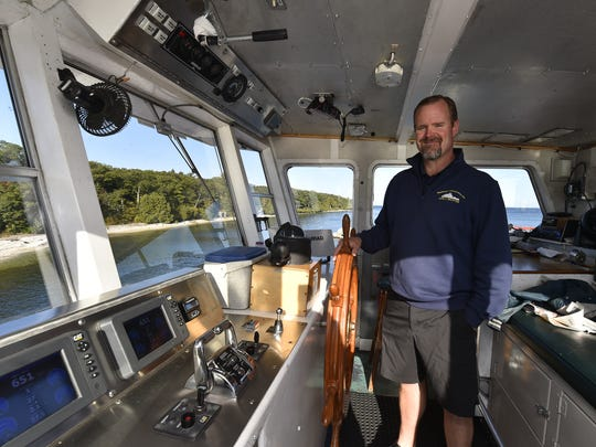 It's been a banner year for the Washington Island Ferry Line according to its president Hoyt Purinton. Tina M. Gohr/USA TODAY NETWORK-Wisconsin