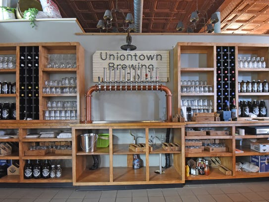 The 140-seat Uniontown Brewery Co. is a combination