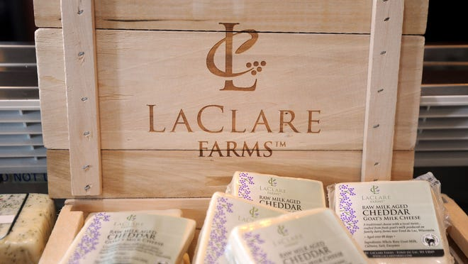 LaClare Farms is known for its goat cheese. The Larry and Clara Hedrich family has succeeded in finding a niche in agriculture.