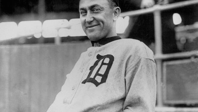 Detroit Tigers great Ty Cobb