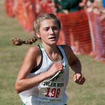Floyd Central cross country's Sydney Liddle races to CJ Athlete of the Week Award