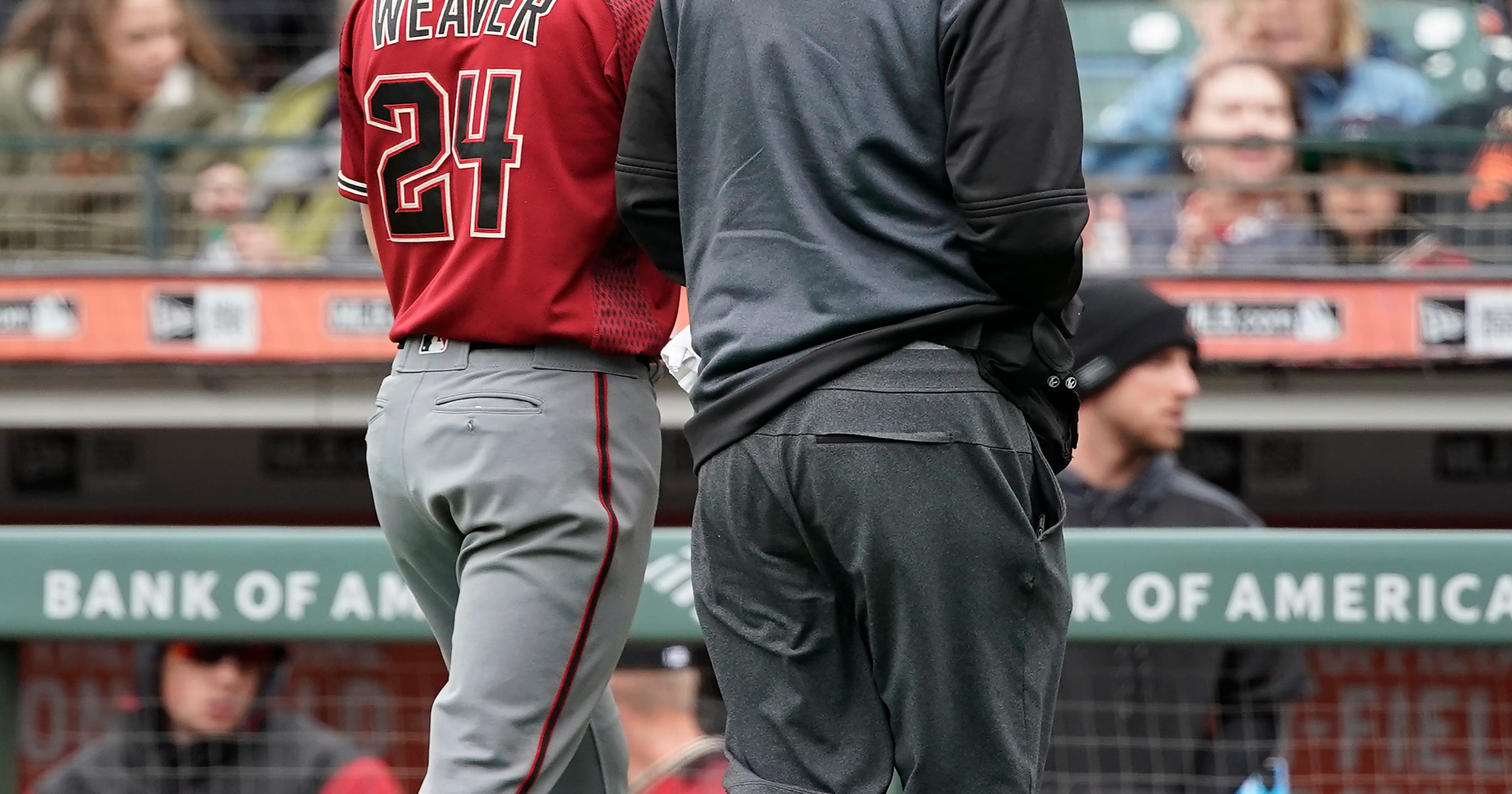 D-Backs' Luke Weaver Out Extended Time With Elbow Injury