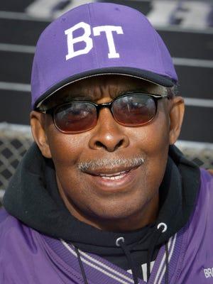 Bradley Tech track coach Ken Williams.