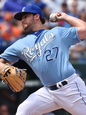 The Reds acquired left-hander Brandon Finnegan in the deal that sent Johnny Cueto to Kansas City.