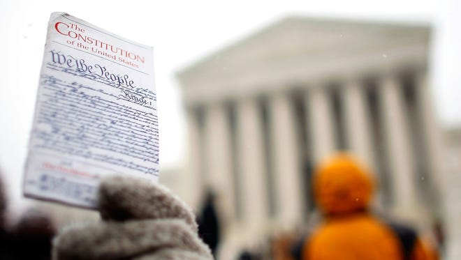 The Constitution is at the root of American concepts of justice.
