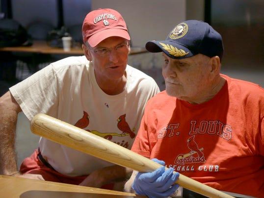 AP Alzheimers Cardinals Baseball_002