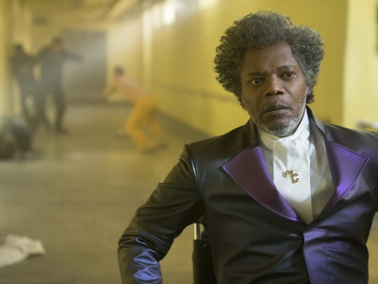Samuel L. Jackson in a scene from M. Night Shyamalan's