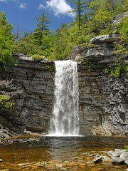 Awosting Falls is in Minnewaska State Park Preserve.
