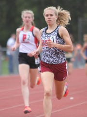 Milford junior Victoria Heiligenthal is one of the
