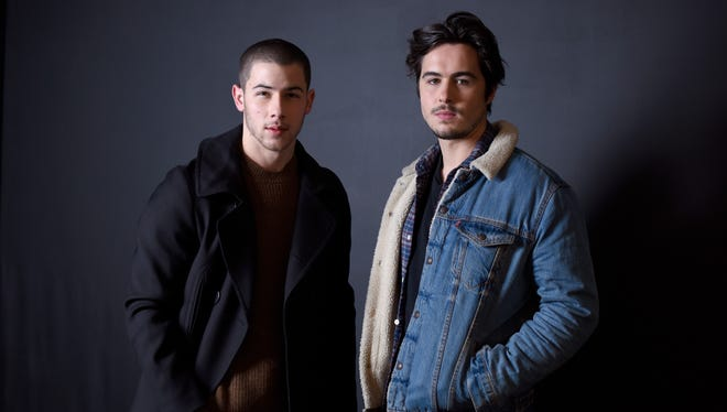 Nick Jonas and Ben Schnetzer hit the Sundance Film Festival with their fraternity drama, 'Goat.'