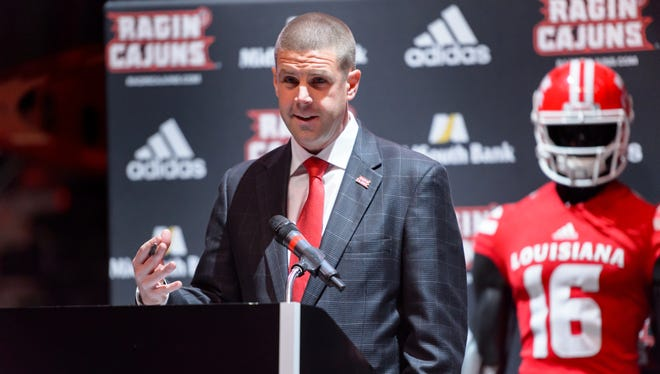 Billy Napier shored up UL's recruiting support staff soon after being hired as coach of the Ragin' Cajuns.