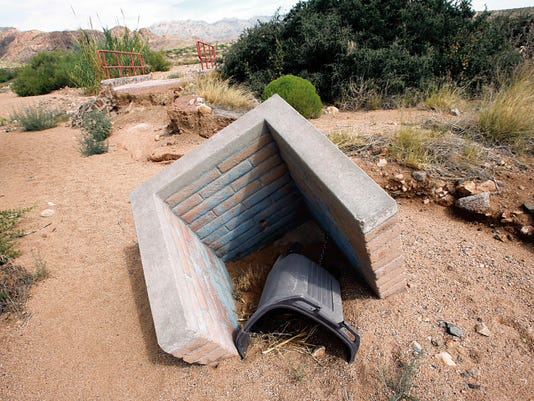 Trails and equipment on the trail have fallen into disrepair.