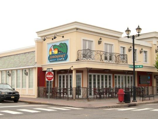 Hemingway's Cafe in Seaside Heights.
