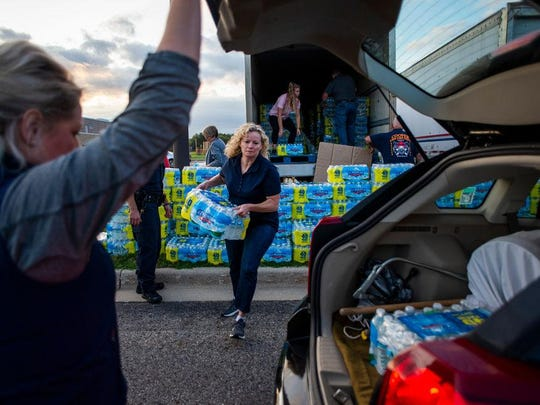 Bottled water distribution is underway in Parchment, Michigan after wells tested above federal limits for PFAS contaminants.