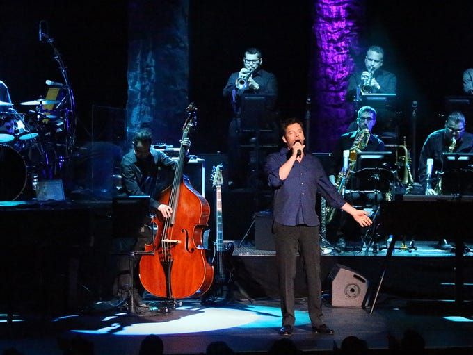 Harry Connick Jr. performs to a sold out audience at