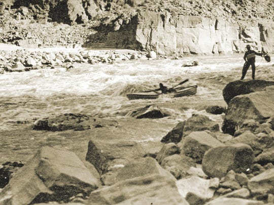 At especially perilous rapids, one brother would often stand ready on shore with a rope and a life preserver.