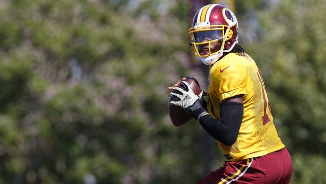 Robert Griffin III might be getting his last chance with the Redskins.