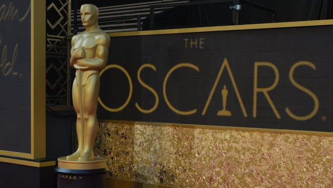 Oscar statue in Los Angeles on Feb. 27, 2016.