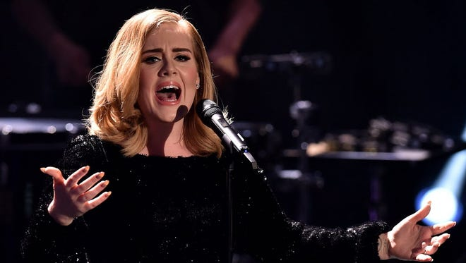 Every kiss begins with...Adele?