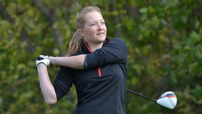 St. Cloud State's Laurel Enstrom will take part in the NCAA Division II Central Super Regional. The regional will take place Monday through Wednesday at Awarii Dunes Golf Course in Axtell, Nebraska.
