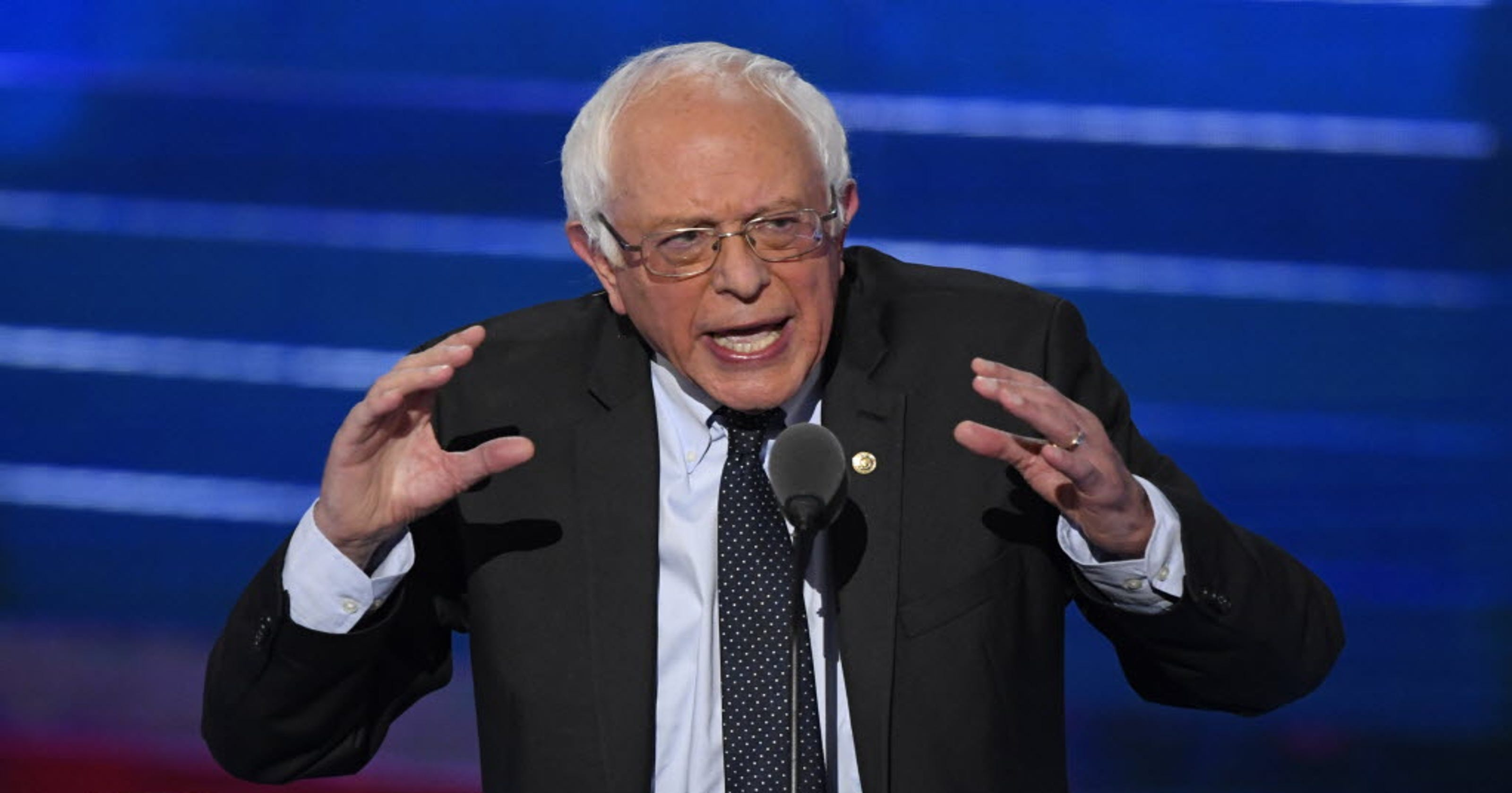 Hillary Clinton must become the next president,' Sanders