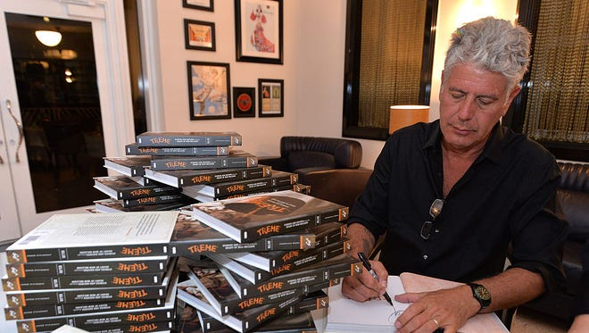 "Anthony Bourdain is well-known as the host of the CNN series, ""Anthony Bourdain Parts Unknown,"" but he also writes books. ""Appetites"" is his latest cookbook."
