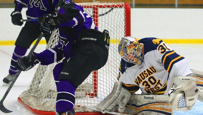 Wausau West goalie Jacob Warnke entered the week with a 5-2 record and 1.93 goals against average.