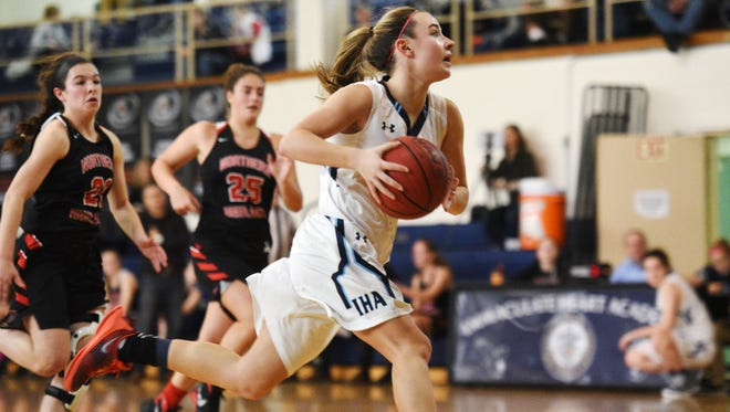 Freshman guard Brittany Graff will be looking to help Immaculate Heart Academy win its sixth consecutive sectional title.