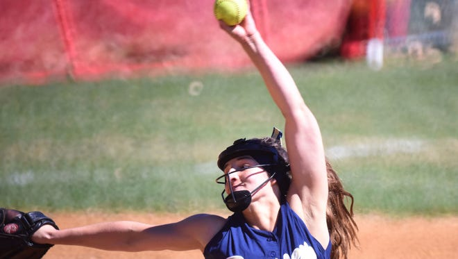 Ramsey pitcher Victoria Sebastian allowed three hits to help lead the top-seeded Rams to a 2-0 win over No. 9 Mahwah in the Bergen County tournament quarterfinals on Saturday.