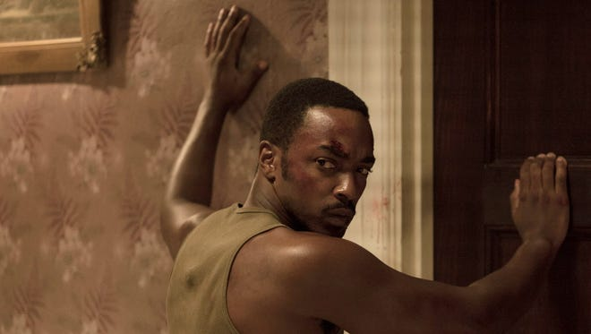 Anthony Mackie plays a soldier returning from 1967 Vietnam in 'Detroit.'