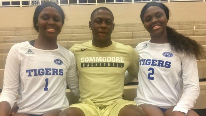 Triplets Maya, Maxwell and Megan Evans wanted to stay close together after high school and they're doing that with Maxwell playing basketball at Vanderbilt and Maya and Megan playing volleyball at Tennessee State.