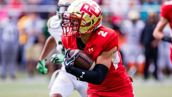 Check out where Bergen Catholic senior WR Dylan Classi ranks among North Jersey's reception leaders.