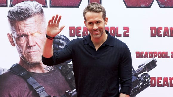 "Ryan Reynolds is back for ""Deadpool 2."""